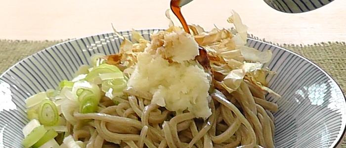 福井県のご当地蕎麦「越前おろしそば」