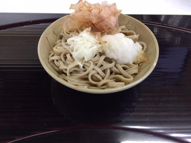 蕎麦・天婦羅やす竹のおろし蕎麦