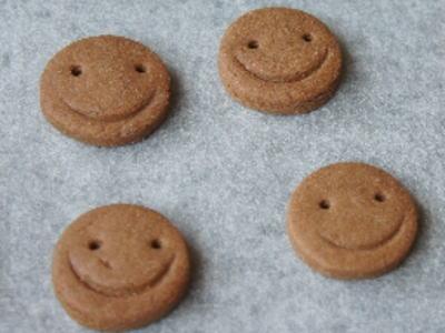 そば粉のクッキー出来上がり