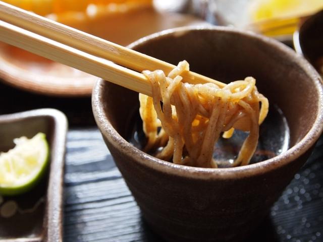 蕎麦の栄養素と効能