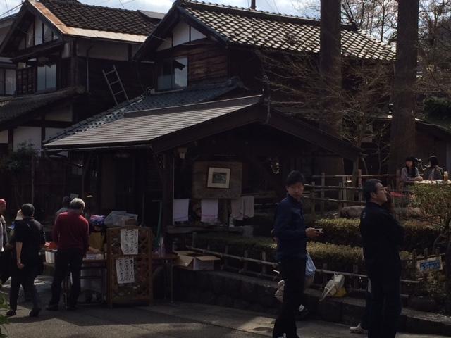 皇子ケ池蕎麦の販売所