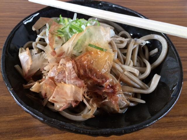 皇子ケ池蕎麦