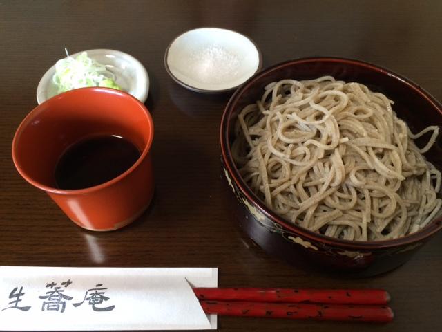 自家製粉「生蕎庵」熟成蕎麦