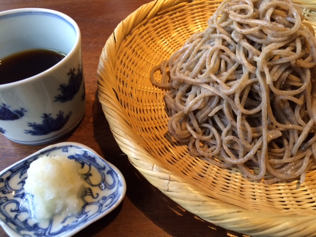 蕎味櫂の辛味大根のおろし蕎麦