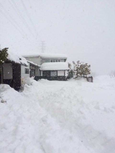 平成30年北陸福井大豪雪の積雪状況