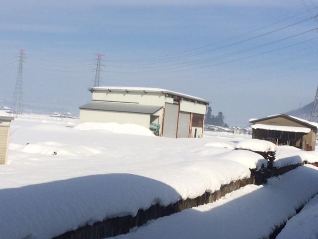 平成30年北陸福井大豪雪