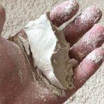 手で握った跡の残るしっとり感そば粉(田舎挽き)