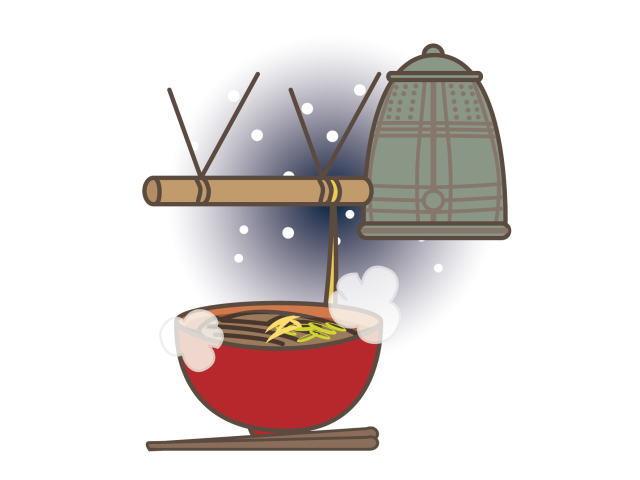 除夜の鐘と年越し蕎麦